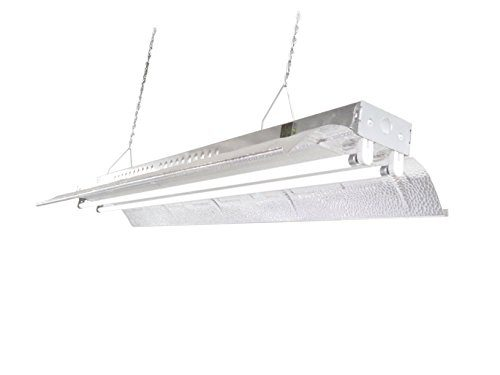 T5 HO Grow Light - 4 FT 2 Lamps - DL842 Fluorescent Hydroponic ...